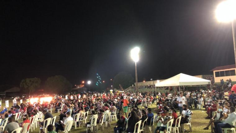 Convenção do prefeito Cláudio Santana em Araguatins, Bico do Papagaio