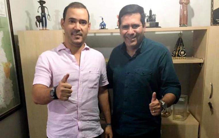 Vicentinho Júnior e Marcus Marcelo