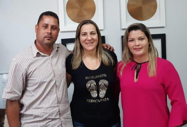 Arquimino Modesto, Dulce Miranda e Michele Rodrigues