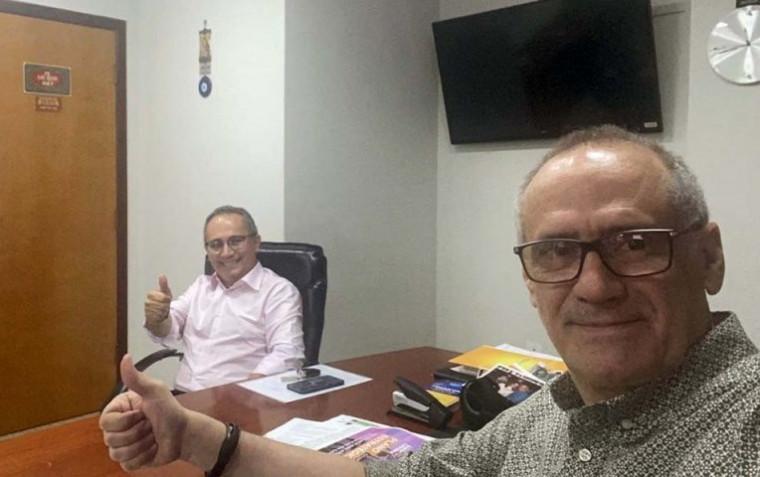 Edgar Tolini e Alan Kardec Moreira