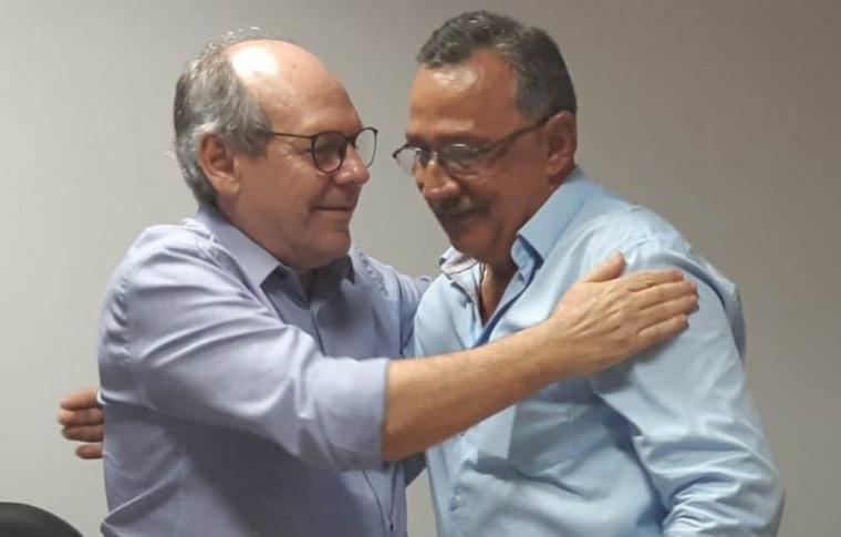 Dimas (à esq.) e Rérisson