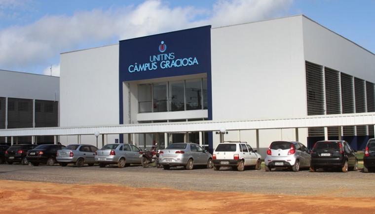 Campus da Unitins em Palmas