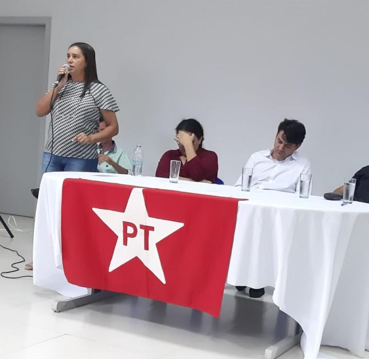 A pré-candidata a vice é filiada ao PT desde 1989