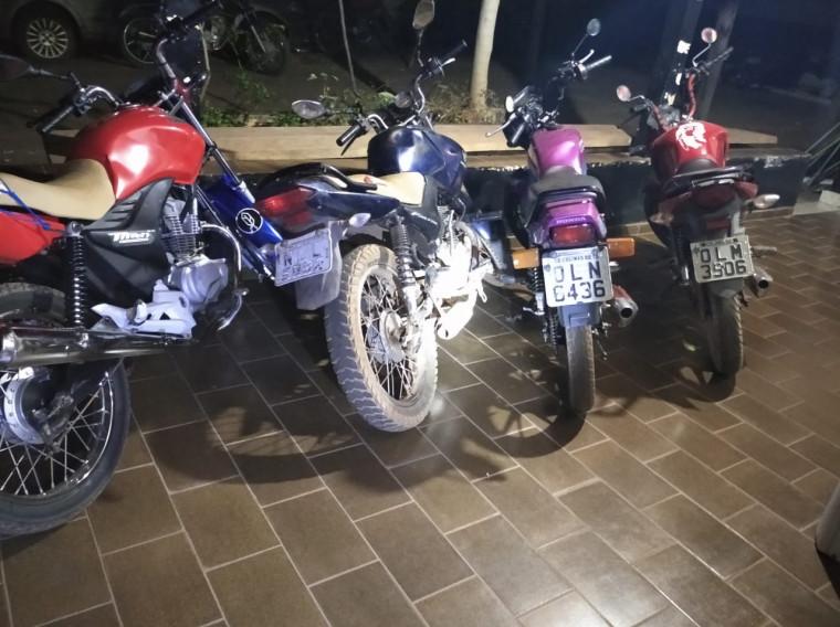 Operação Abafador apreende 4 motocicletas e autua 4 proprietários em Colinas