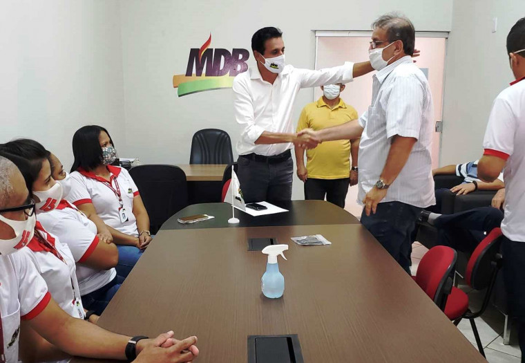 O MDB fechou essa quarta-feira (9) com o retorno de Marcelo Miranda