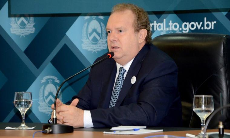 O governador tem reunião com investidores em Portugal