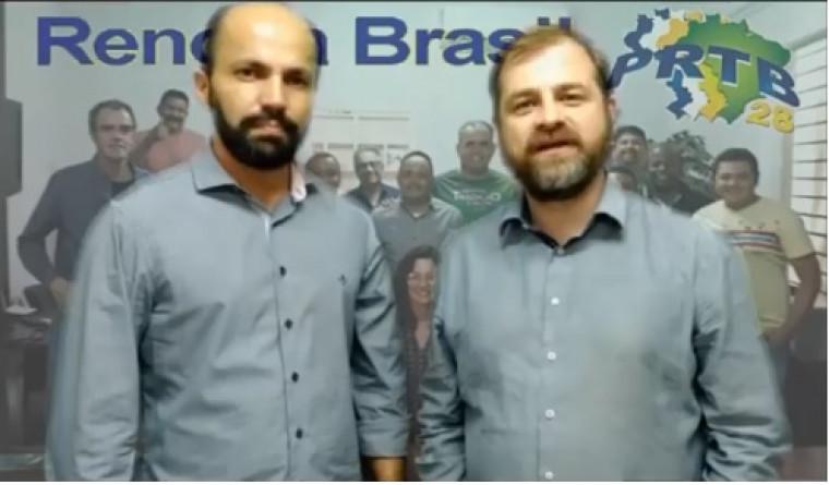 Chapa do PRTB em Araguaína