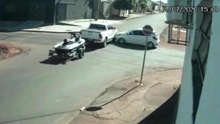 Momento da colisão