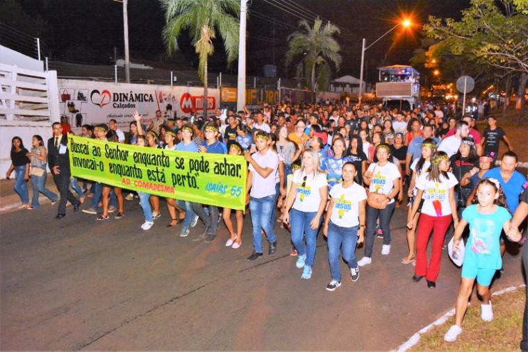Mais de 20 mil pessoas participaram
