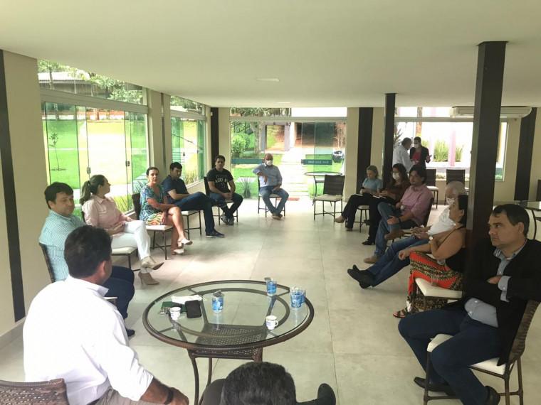 Reunião entre empresários e prefeita de Palmas