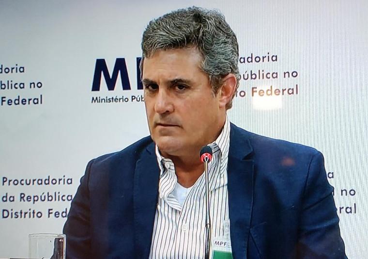 Rossine Aires Guimarães é um dos denunciados
