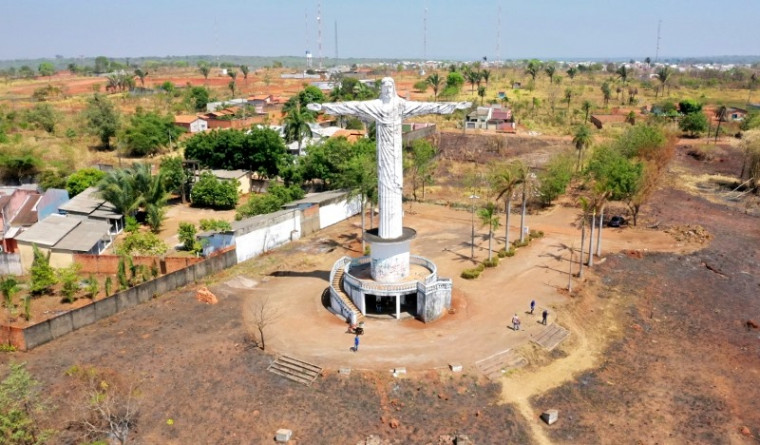 Local onde fica o Cristo Redentor