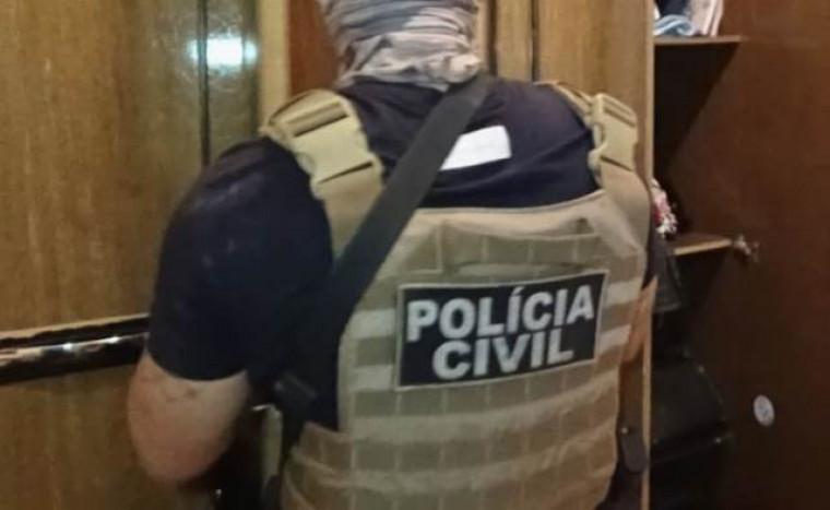 Prisão foi cumprida pela Polícia Civil