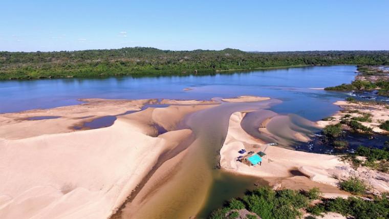 Praias no Garimpinho, município de Araguaína