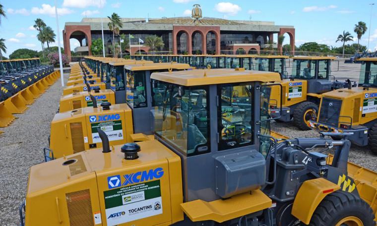 Máquinas serão distribuídas aos 139 municípios do Tocantins