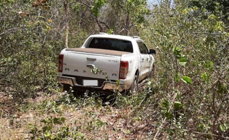 Camionete recuperada