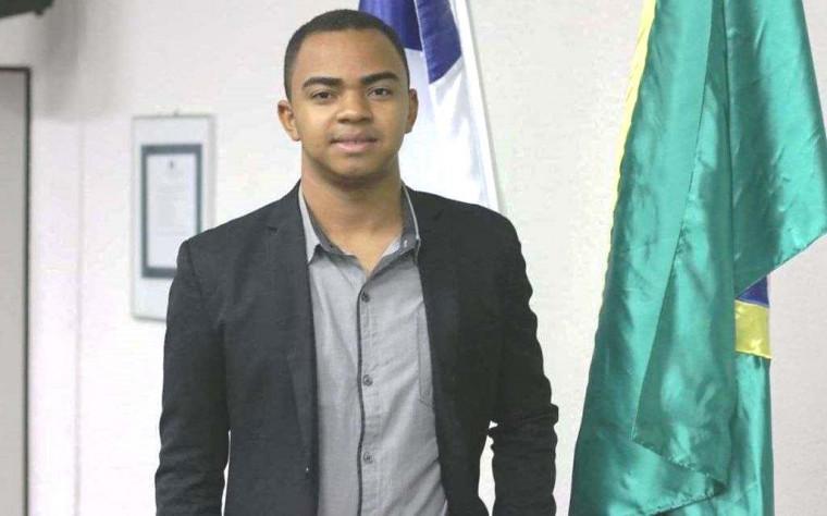 Heno Rodrigues é vereador do município e agora o prefeito eleito mais jovem do Estado