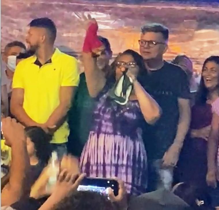 Dona Dinéia é candidata a vereadora em Xambioá (TO)