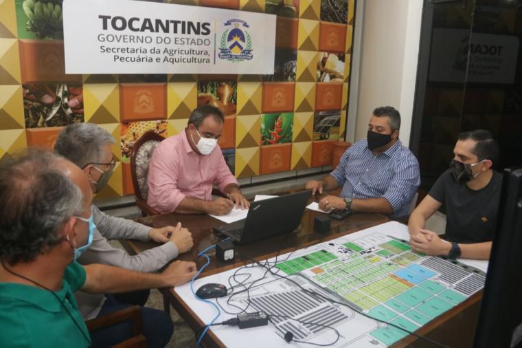 Preparativos da Agrotins 100% Digital