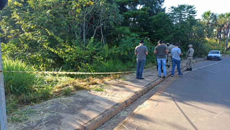 Local onde os corpos foram encontrados