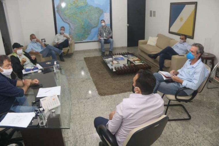 Reunião entre Agricultura e Embrapa