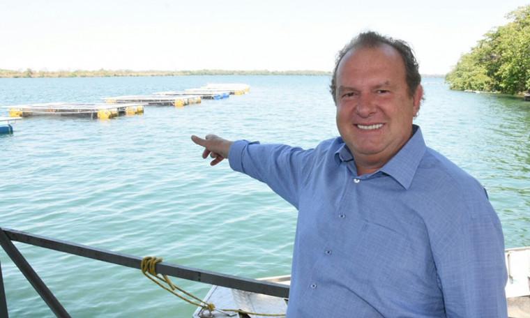 O governador Carlesse participou do lançamento do primeiro projeto de criação de tilápias