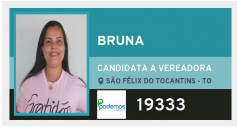Suspeita é candidata a vereadora em São Félix do Tocantins, na região do Jalapão