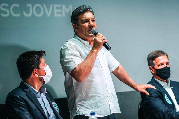 Osires Damaso durante evento do PSC em Araguaína