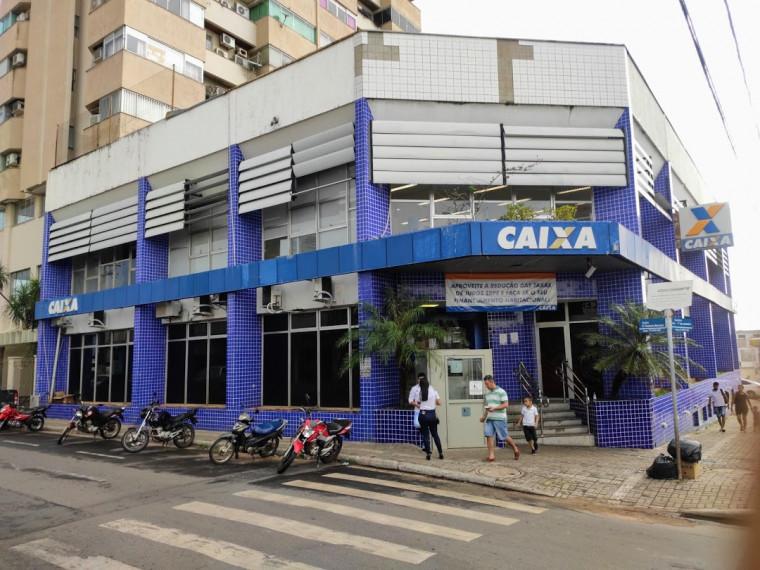 Agência da Caixa na Avenida 1º de Janeiro, em Araguaína