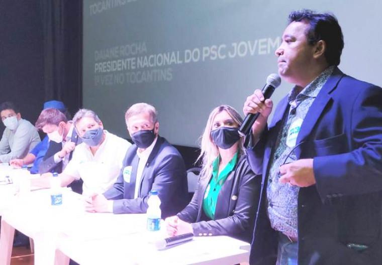 Deputado estadual Elenil da Penha (MDB) participou do evento