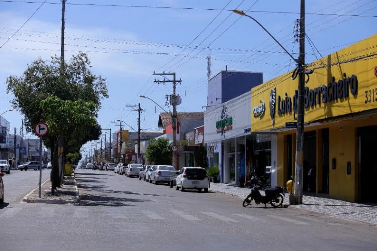 Avenida Goiás, em Gurupi