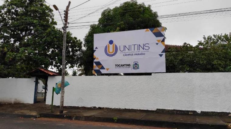 Campus da Unitins em Paraíso