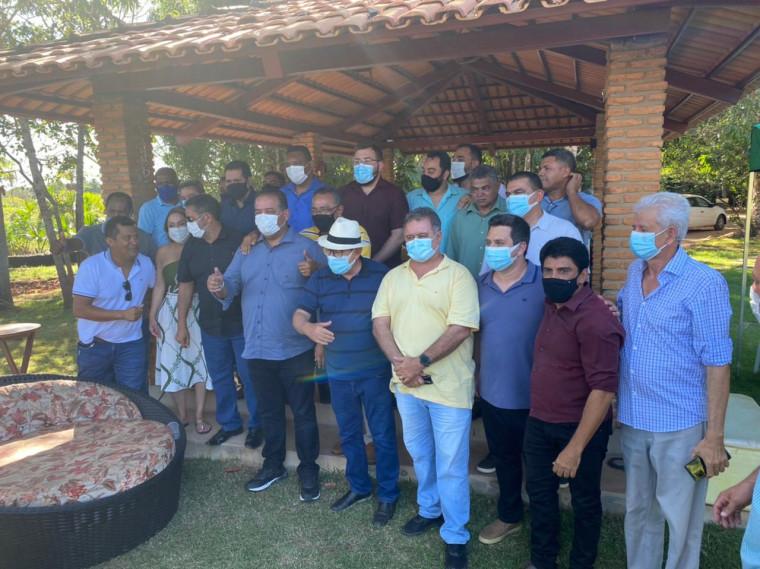 Almoço do senador Eduardo Gomes com lideranças políticas de Araguaína