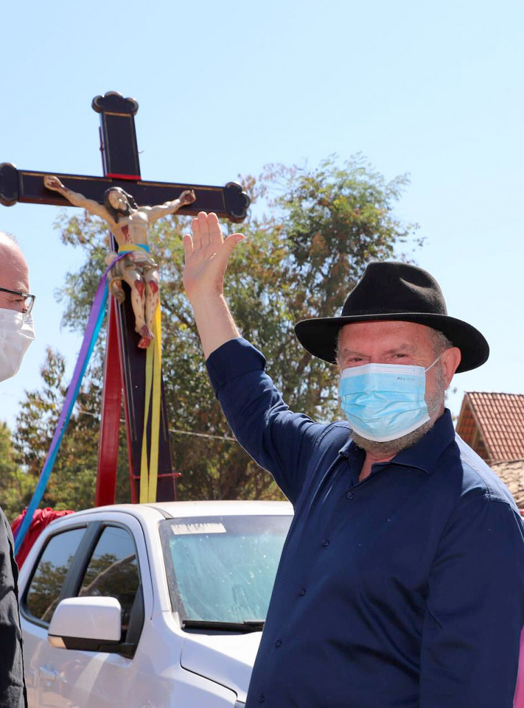 Senhor do Bonfim é um local abençoado, ideal para agradecer as graças recebidas e renovar a nossa fé, disse Carlesse