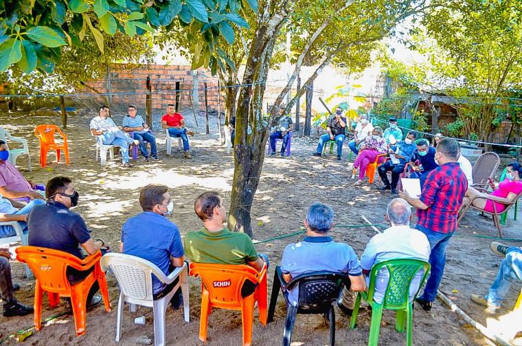 Reunião em Sampaio