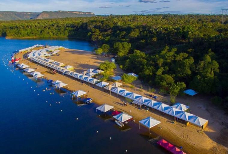 Praia do Funil em Miracema