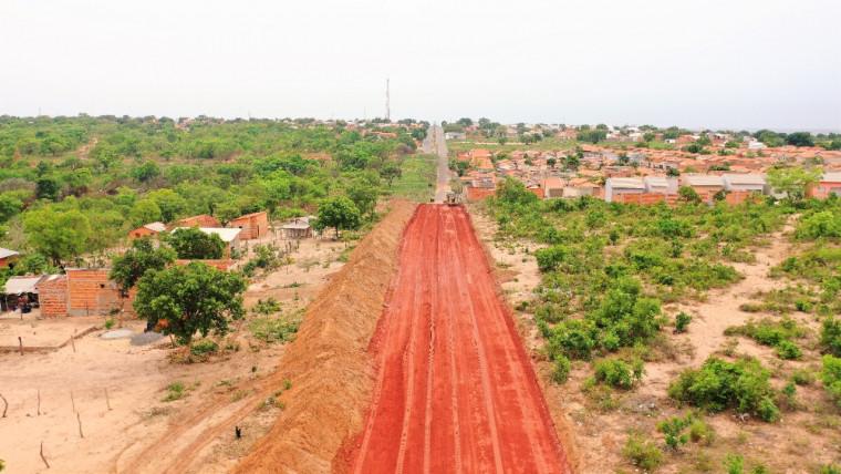 Com 5,2 quilômetros de extensão, a obra conta com investimento na ordem de R$ 15,3 milhões