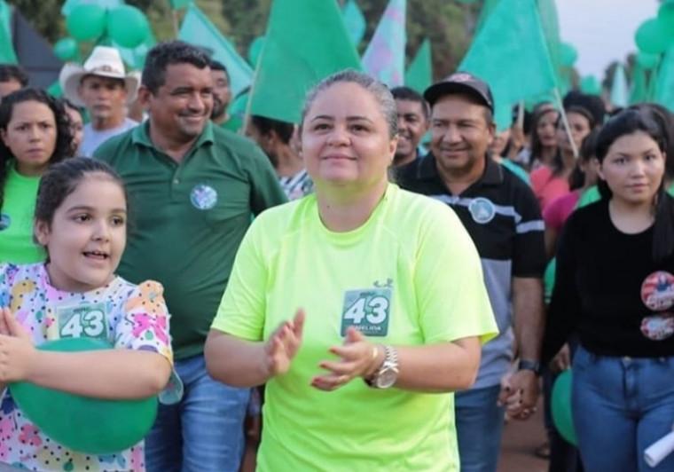 Nélida Miranda Cavalcante é esposa do ex-prefeito Gilmar Cavalcante