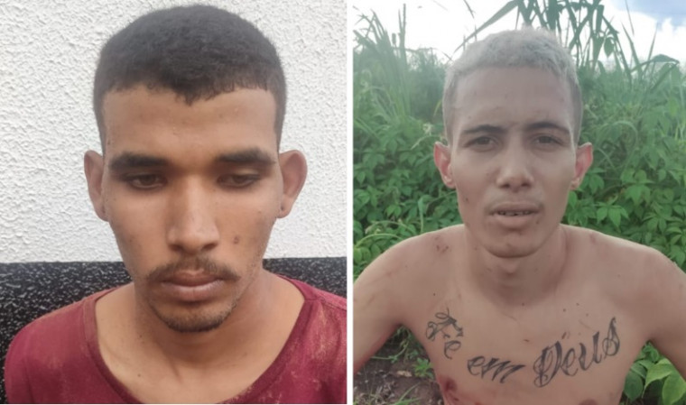 Jovens presos