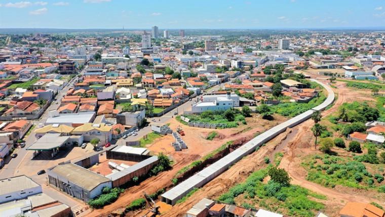 Obra em Araguaína