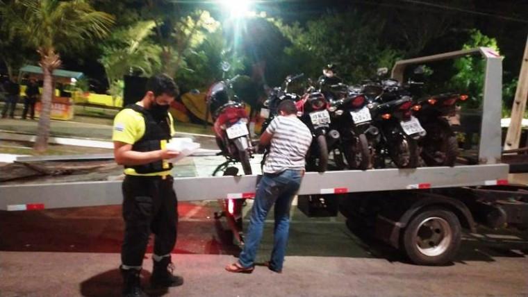 Fiscalização de trânsito também atuou nas ruas da capital