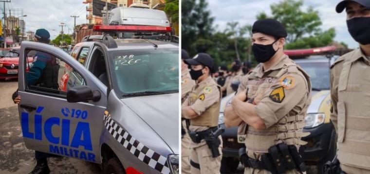 PMs do Pará e Tocantins