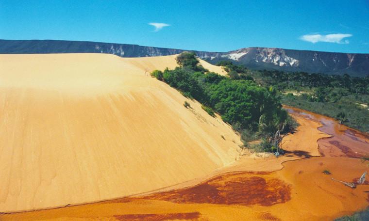 Famosas dunas do Jalapão