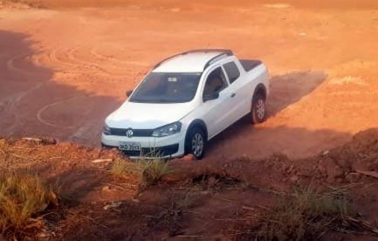 O carro da vítima foi encontrado na região sul de Palmas na tarde desta terça-feira (24)