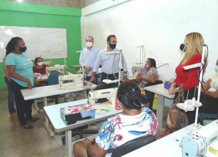 Nesta etapa, são ofertados sete cursos para 150 alunos