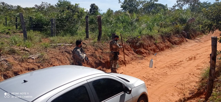 Homem foi preso na zona rural do município de Araguatins