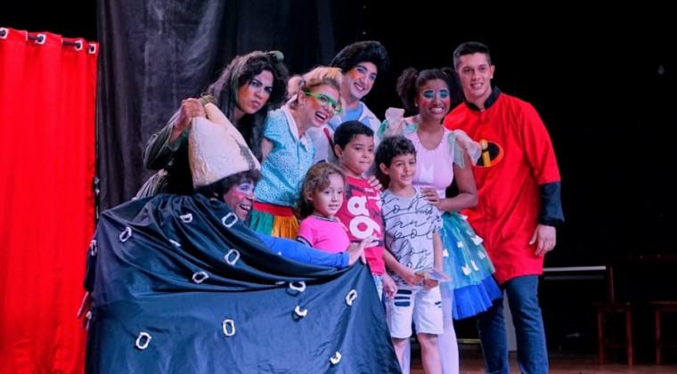 A peça é apresentada pelo Grupo Artpalco