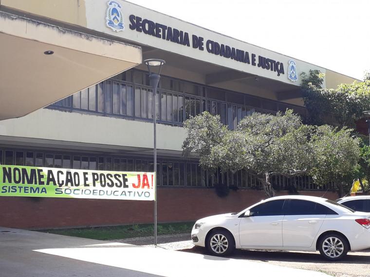 A Seciju diz que o governo está trabalhando para dar posse aos aprovados
