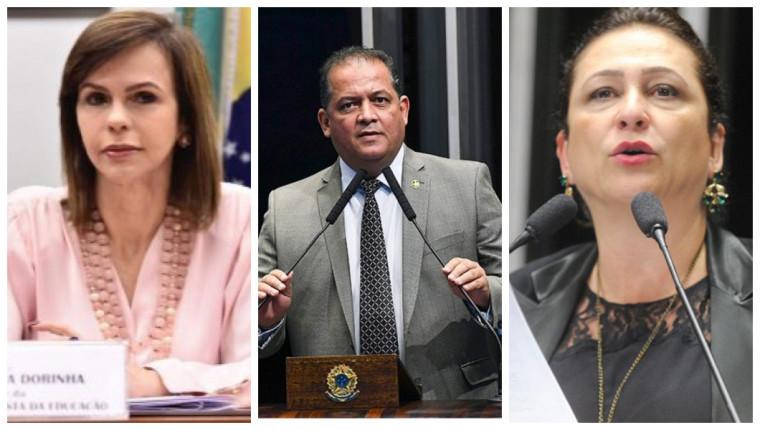 Dorinha, Gomes e Kátia entre os 100 mais influentes do Congresso