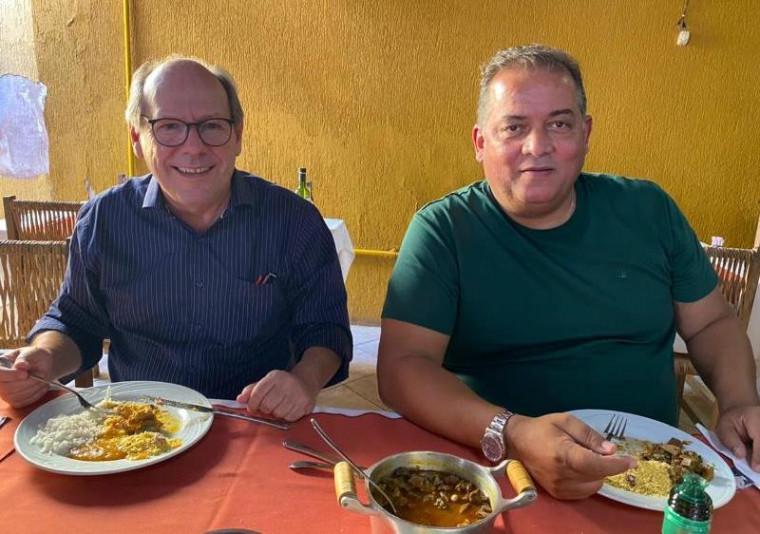 Dimas e Eduardo Gomes